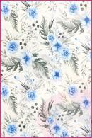 Dzikie kwiaty niebieski