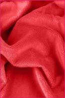 Pościel dla dzieci i niemowląt - MINKY czerwony gładki
