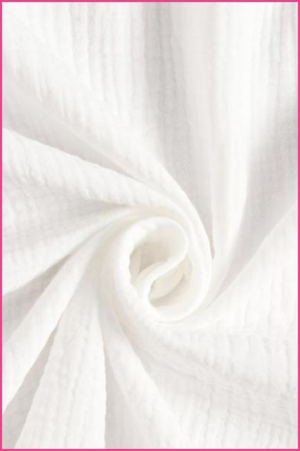 Muślin biały