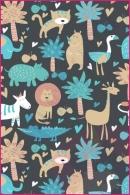 Pościel dla dzieci i niemowląt - Dżungla na szarym