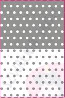 Pościel dla dzieci i niemowląt - Grochy szare MIX