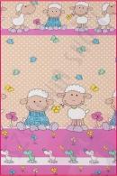 Pościel dla dzieci i niemowląt - Owce beżowe