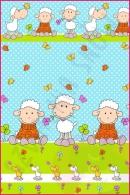 Pościel dla dzieci i niemowląt - Owce niebieskie