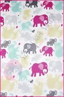 Pościel dla dzieci i niemowląt - Słonie żółto miętowe