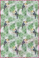 Pościel dla dzieci i niemowląt - Tukany z palmą