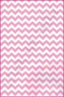 Pościel dla dzieci i niemowląt - Zygzak różowy