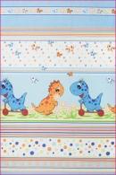 Pościel dla dzieci i niemowląt - Dino niebieski