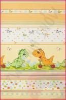 Pościel dla dzieci i niemowląt - Dino pomarańcz