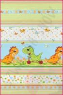 Pościel dla dzieci i niemowląt - Dino zielony