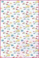 Pościel dla dzieci i niemowląt - Drobne czerwono zielone samochodziki
