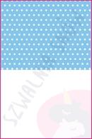Pościel dla dzieci i niemowląt - Groszki białe na niebieskim MIX biały