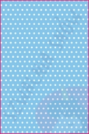 Pościel dla dzieci i niemowląt - Groszki białe na niebieskim
