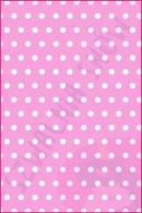 Pościel dla dzieci i niemowląt - Groszki białe na różu