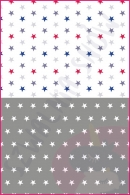 Pościel dla dzieci i niemowląt - Gwiazdki kolory MIX szary