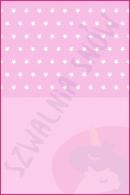 Pościel dla dzieci i niemowląt - Gwiazdki białe na różu MIX róż