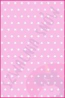 Pościel dla dzieci i niemowląt - Gwiazdki białe na różu