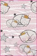 Pościel dla dzieci i niemowląt - Kotki w koronach