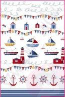 Pościel dla dzieci i niemowląt - Kotwico-statek