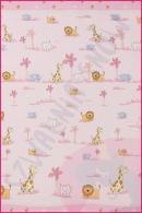 Pościel dla dzieci i niemowląt - Małe różowe zoo