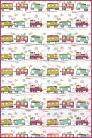 Pościel dla dzieci i niemowląt - Pociągi kolorowe