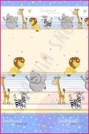 Pościel dla dzieci i niemowląt - Safari niebieski