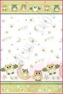 Pościel dla dzieci i niemowląt - Sowy duże zielone
