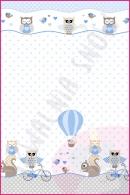 Pościel dla dzieci i niemowląt - Rowerek niebieski