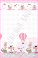Pościel dla dzieci i niemowląt - Rowerek róż