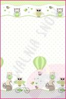 Pościel dla dzieci i niemowląt - Rowerek zielony
