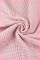 Różowy wafel