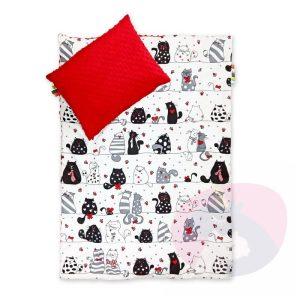 Pościel dla dzieci 120×90 – bawełna + MINKY