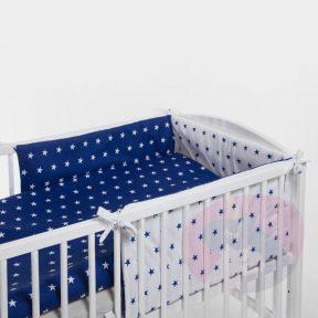 Komplet pościeli dla niemowlaka 135×100 + ochraniacz 180cm