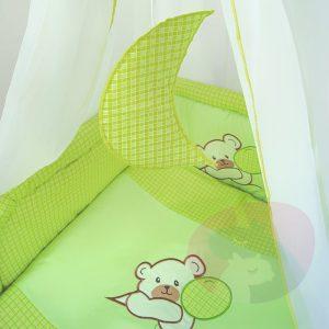 komplet pościeli dla dzieci haftowanej