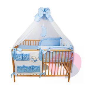 wyprawka do łóżeczka haftowana