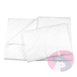 Kołdra i poduszka z mikrofibry 135×100 cm – pikowana