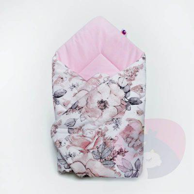Rożek dla niemowlaka z velvetem – 80x80cm