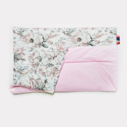 velvet kocyk piwonie roz1