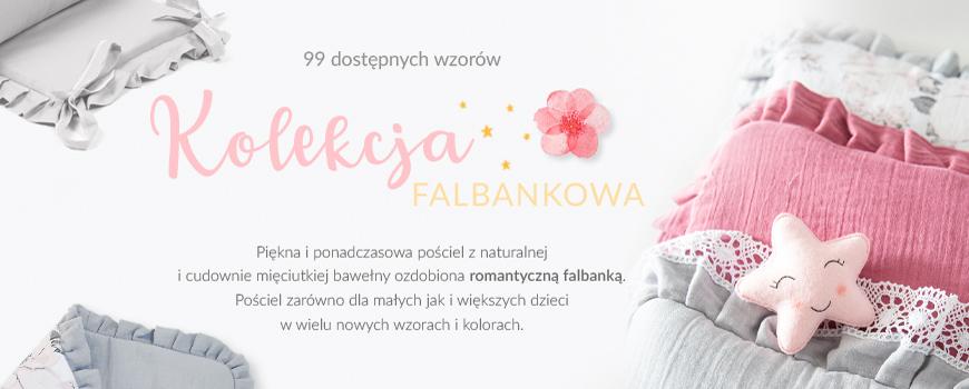 pościel dla dzieci - falbankowa kolekcja