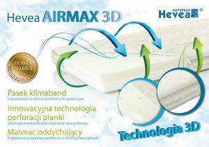 Materac piankowy Hevea Disney Airmax 3D