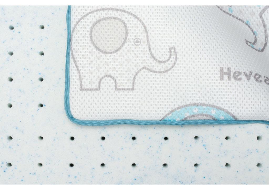Materac lateksowy Hevea Happy Baby Drive lateks
