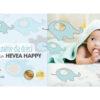 Materac lateksowy Hevea Happy Baby Drive naturalnie dla dzieci