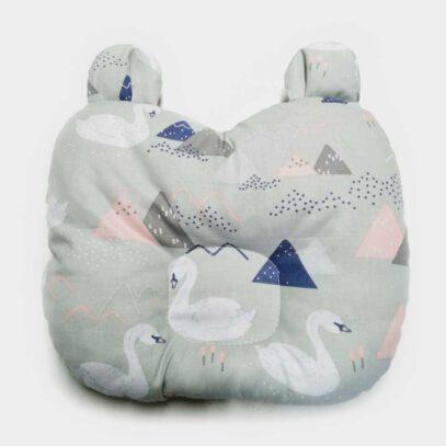 płaska poduszka dla niemowlaka misio puchatek